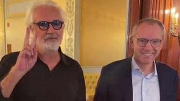 Milioner i skandalista ponownie w F1? Tajemnicze wideo Flavio Briatore