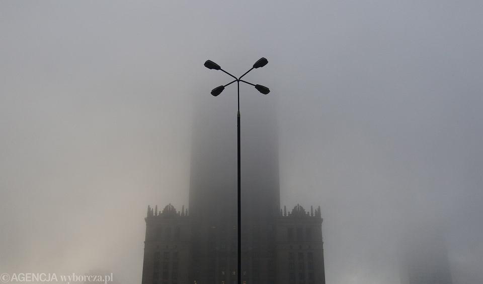 Smog w Warszawie