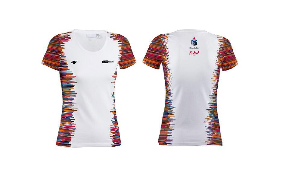 Koszulka dla uczestników 12. PKO Poznań Półmaratonu
