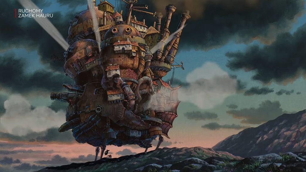 'Ruchomy zamek Hauru'