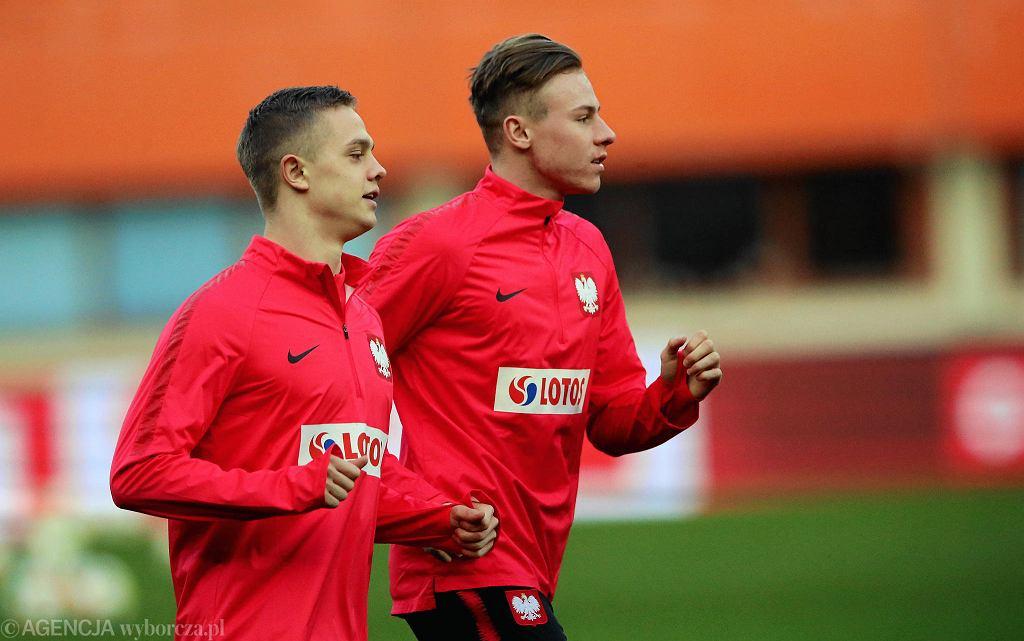 Robert Gumny i Szymon Żurkowski nie zagrali z Austrią i Łotwą
