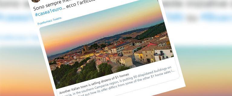 Domy we Włoszech znów do kupienia za 1 euro. Miasteczko Bisaccia oferuje 90 budynków