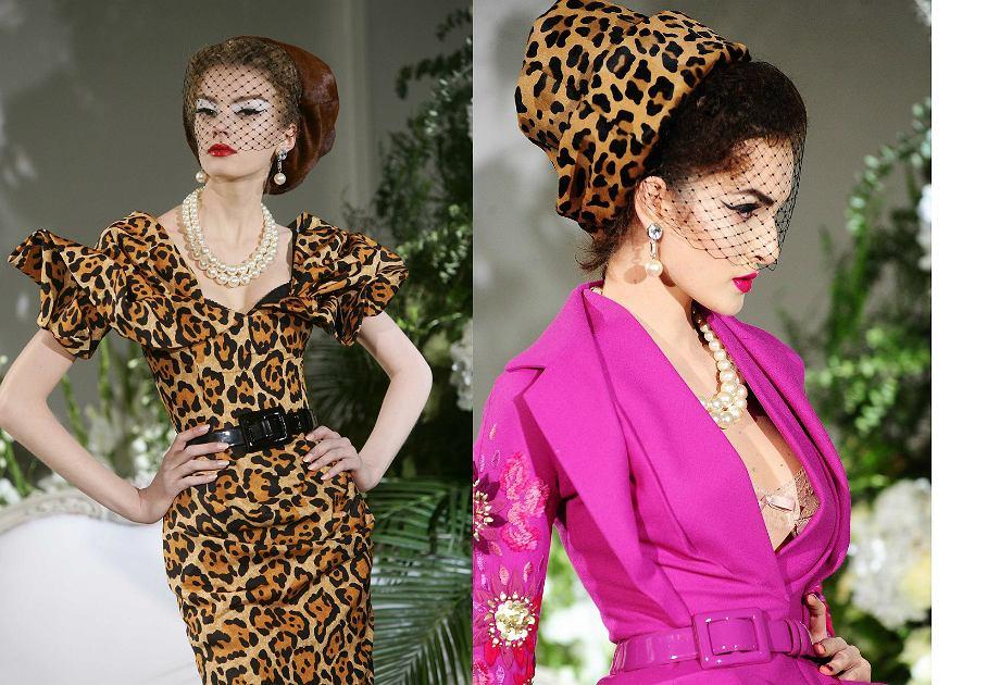 John Galliano - Dior leopard dress
