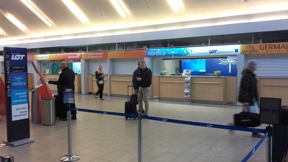 Lotnisko w Tallinnie