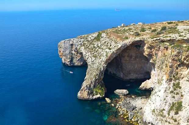 Blue Grotto na Malcie