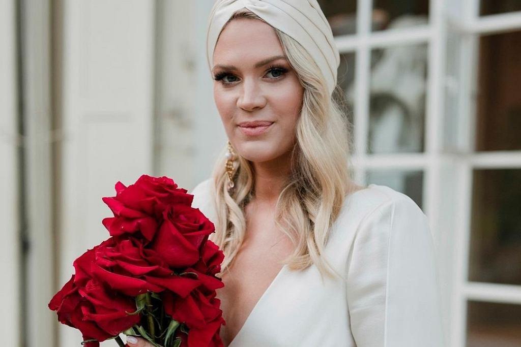 Zofia Ślotała pokazała zdjęcie córki na chwilę przed swoim ślubem: Namalowana jak na obrazie