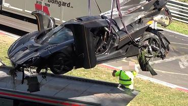 Rozbity Koenigsegg One:1