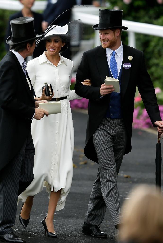 Meghan Markle i książę Harry na Royal Ascot 2018