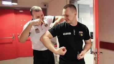 Wojciech Sibiga i Piotr Ślugajski