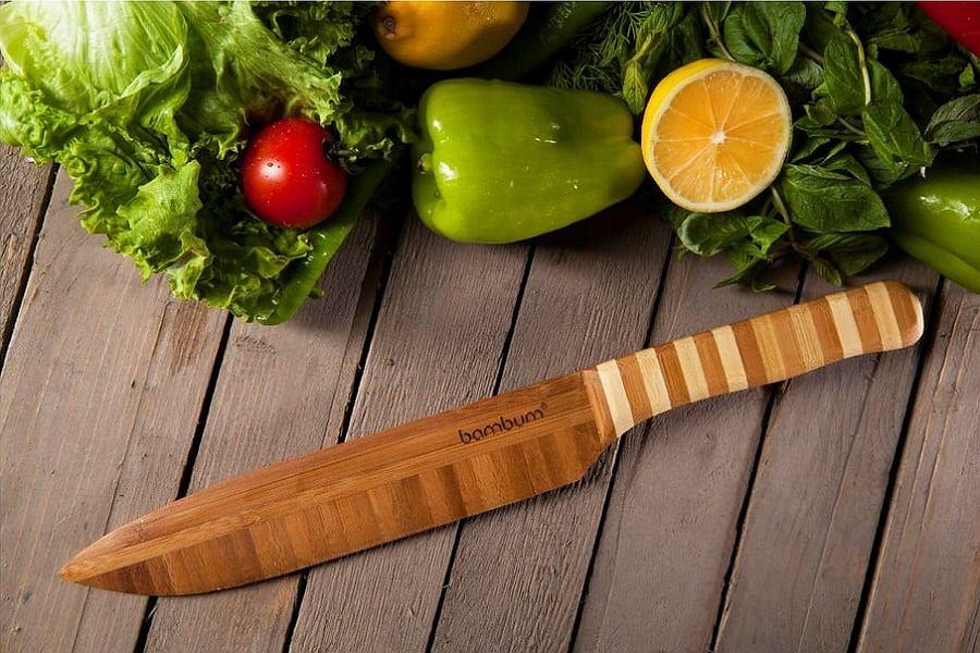 Bambusowy nóż szefa kuchni Bambum