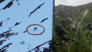 Bezmyślni turyści w Tatrach