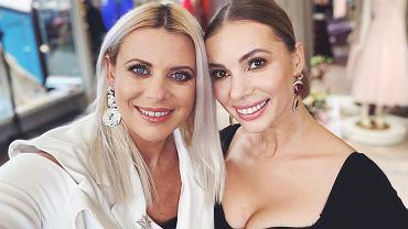 Maria Sadowska i Izabela Janachowska