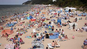Plaża w Międzyzdrojach współcześnie