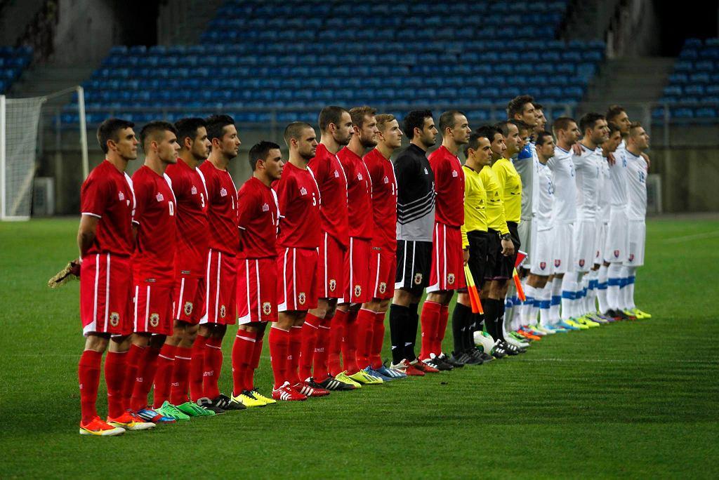 Gibraltar i Słowacja przed meczem