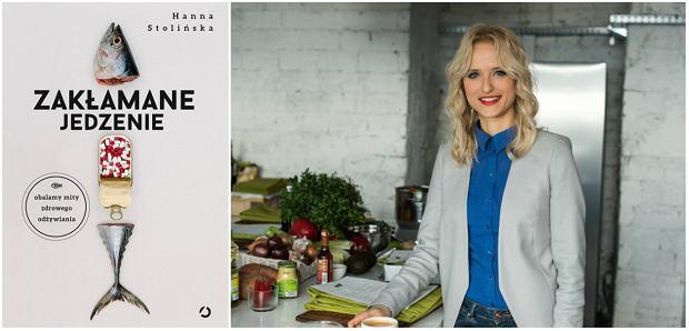Hanna Stolińska autorka książki 'Zakłamane jedzenie'.
