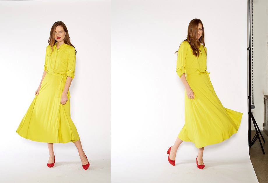 Modny kolor żółty w nowej kolekcji Risk made in Warsaw