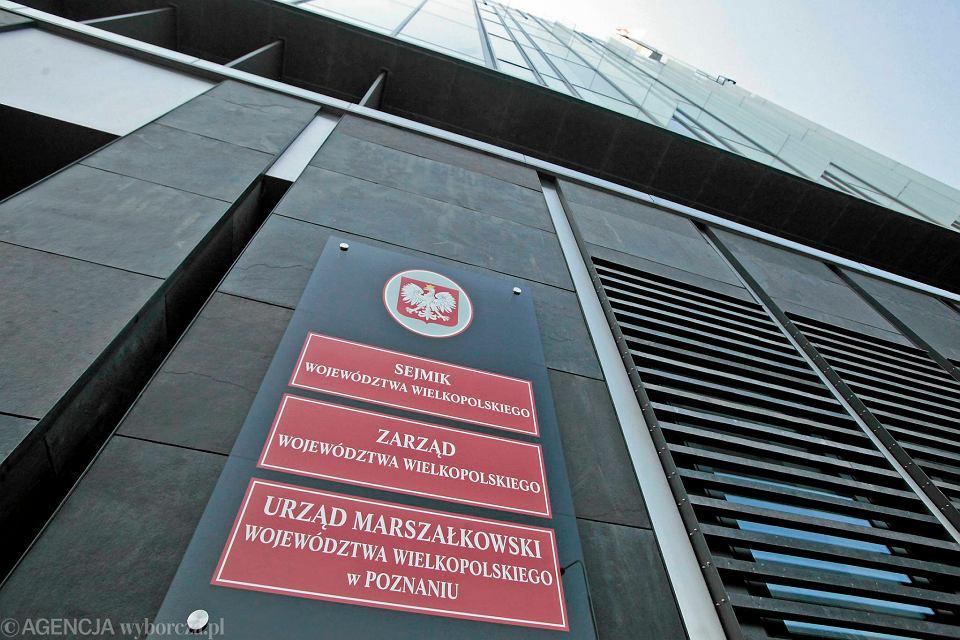 Nowa siedziba Urzędu Marszałkowskiego w Poznaniu przy al. Niepodległości
