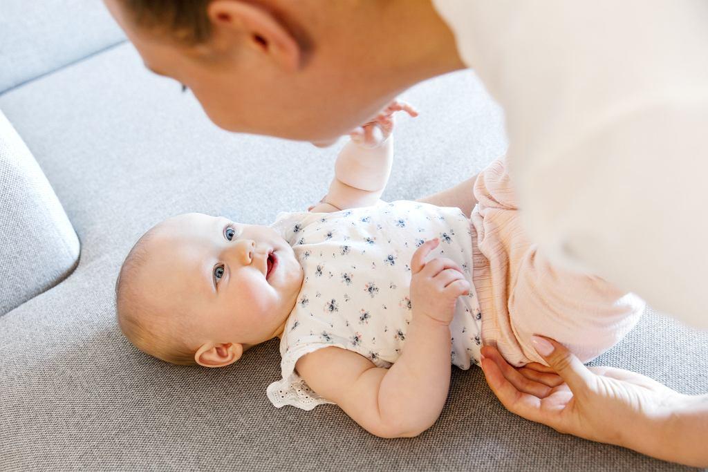Kolor oczu dziecka, zależy od genów jego rodziców.