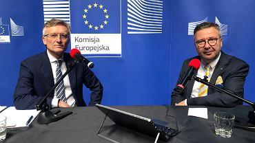 Marek Prawda i Maciej Zakrocki