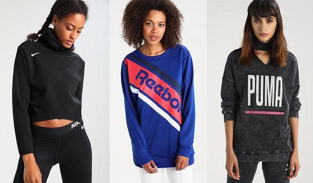 Puma, Nike i Reebok bluzy tych marek koniecznie muszą