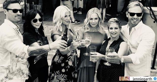 Obsada 'Beverly Hills 90210' po latach