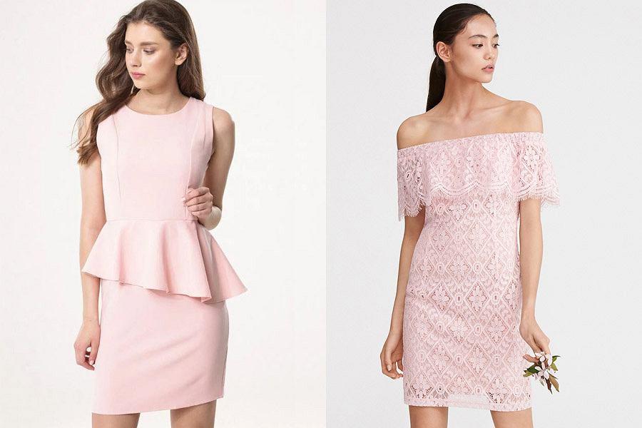 26da9fb8361b7d Sukienki w kolorze pudrowego różu - modele idealne na wesele do 150 ...