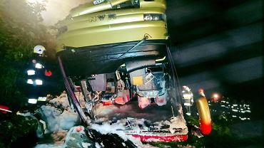 Wypadek w Leszczawie Dolnej