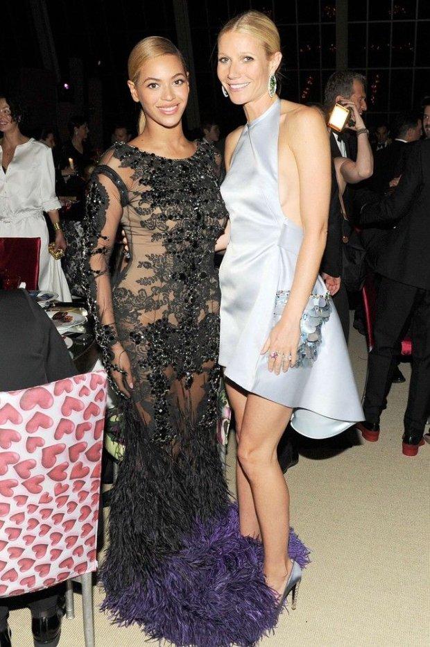 Gwyneth Paltrow i Beyonce