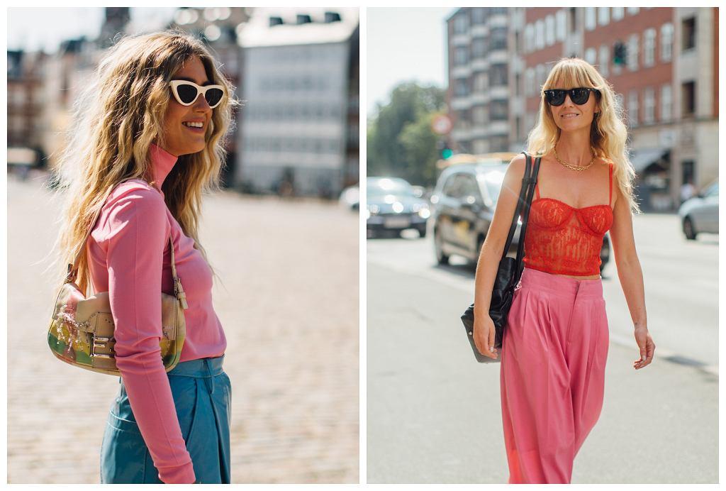 ubrania różowe