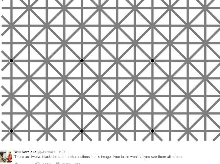 Od patrzenia na tę grafikę może rozboleć głowa