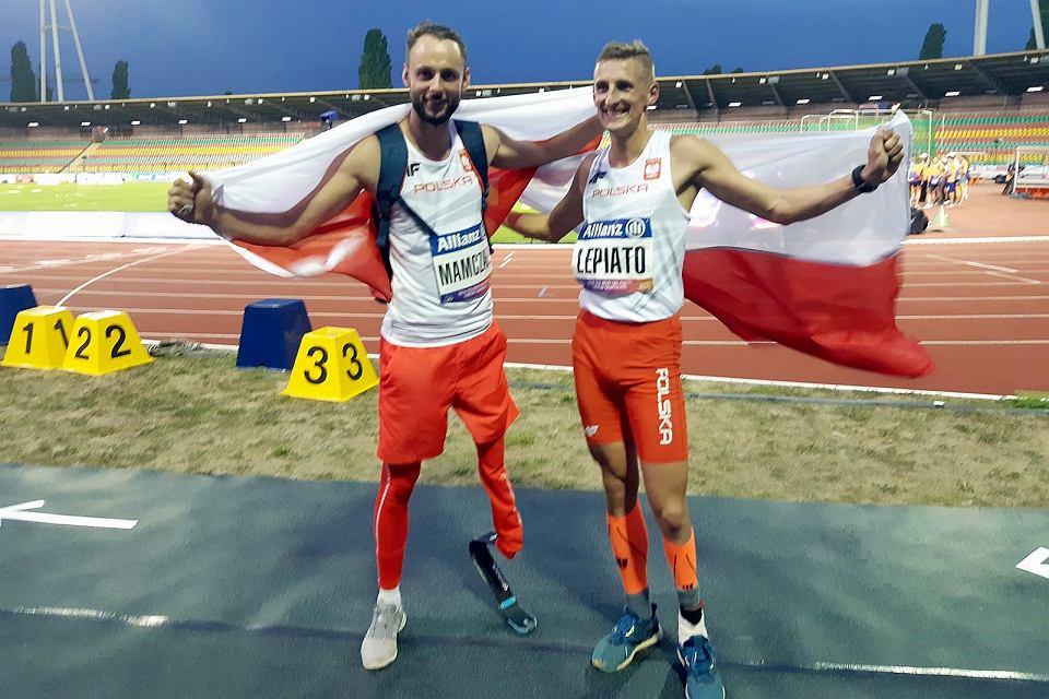 Maciej Lepiato i Łukasz Mamczarz