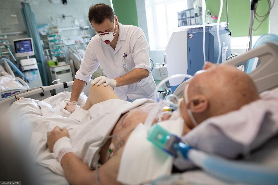 Polskie szpitale walczą z epidemią COVID-19