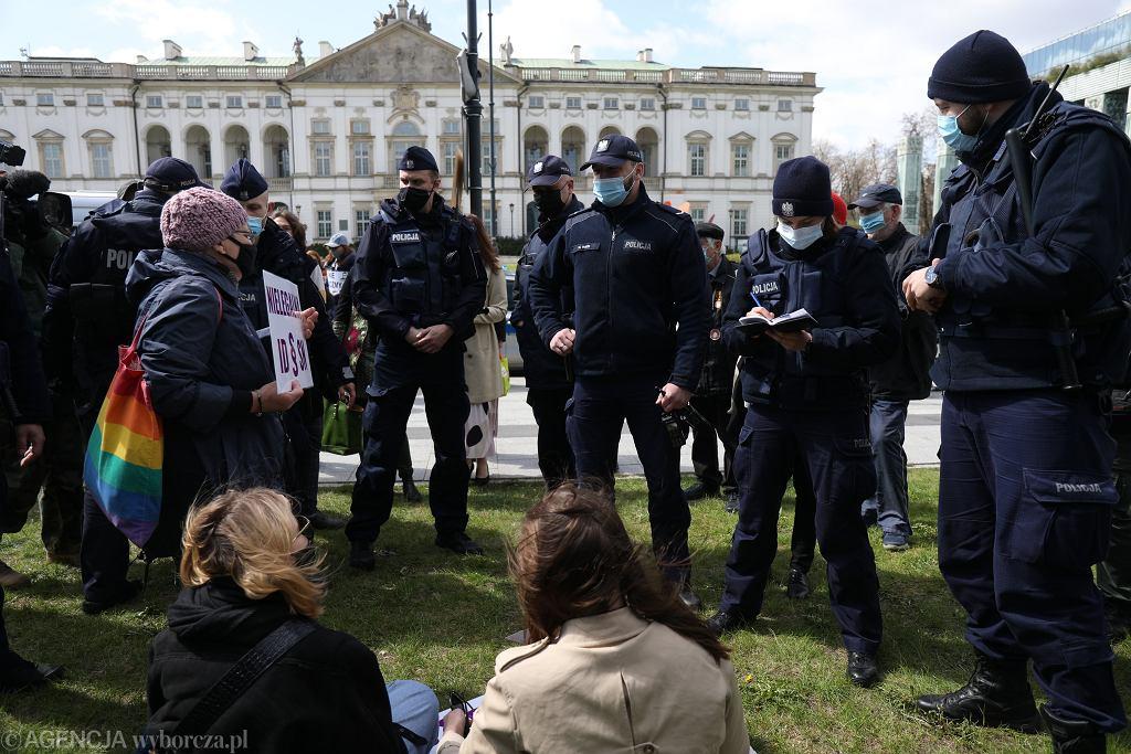 Blokada Sadu Najwyższego w Warszawie przez Obywateli RP