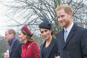 Książę William, księżna Kate, księżna Meghan i książę Harry