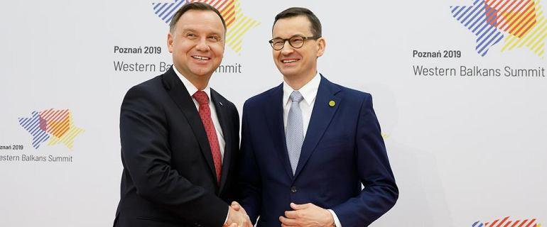 Morawiecki ocenił prezydenturę Dudy: To było pięć lat dobrych zmian