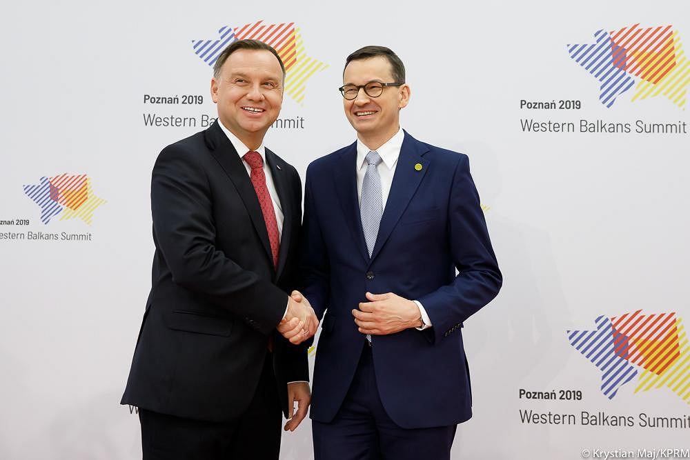 Andrzej Duda i Mateusz Morawiecki
