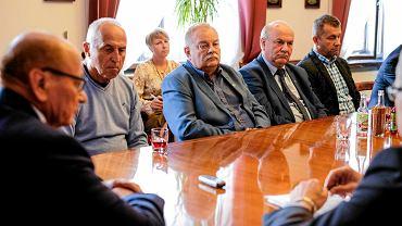 Spotkanie prezydenta Tadeusza Ferenca z przedstawicielami Stali Rzeszów i Resovii