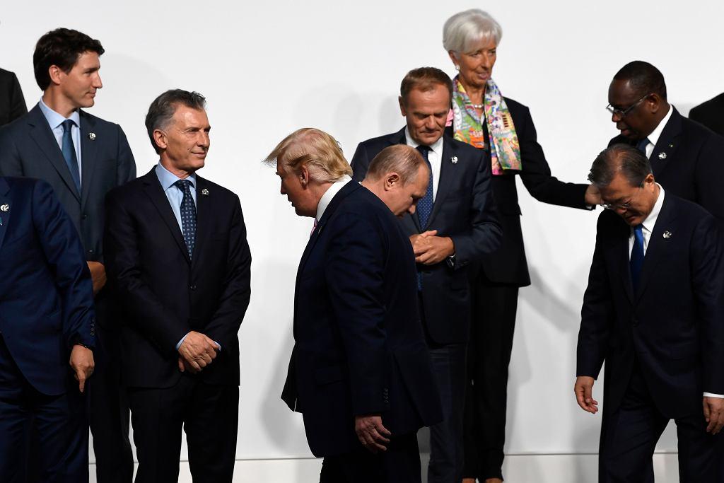 Politycy podczas szczytu G20