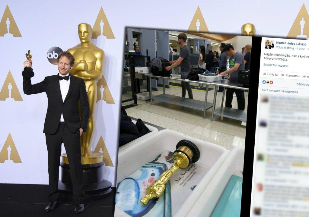 Laszlo Nemes z Oscarem