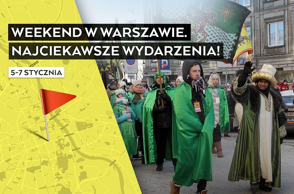 Wydarzenia w Warszawie, weekend 5-7 stycznia 2018 r.