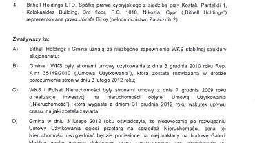 Treść porozumienia w sprawie Śląska Wrocław