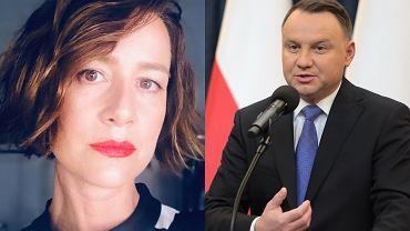 Maja Ostaszewska, Andrzej Duda