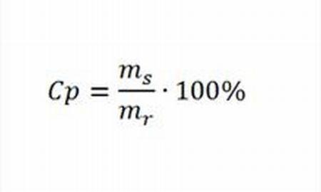 Wzór na stężenie procentowe