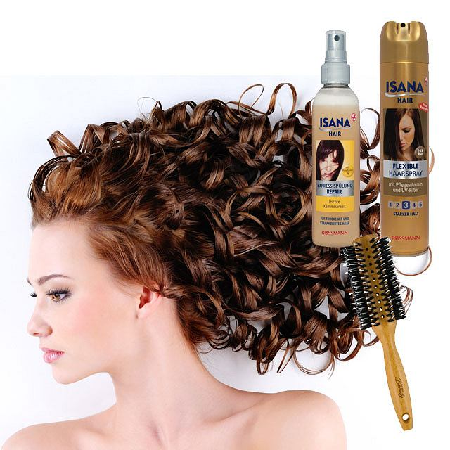 Kosmetyki do stylizacji włosów Isana Rossmann