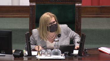 Wicemarszałkini Małgorzata Gosiewska