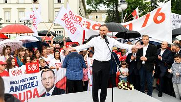 Sąd Najwyższy opublikował oświadczenie majątkowe Andrzeja Dudy