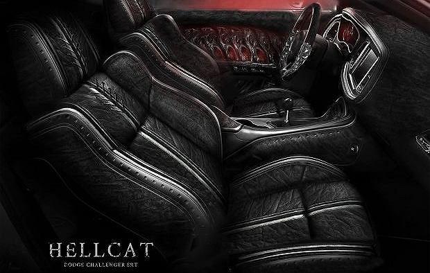Dodge Challenger Hellcat Carlex Design