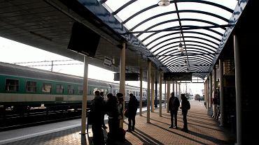 Perony lubelskiego dworca PKP