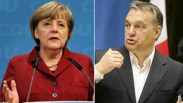 Angela Merkel i Viktor Orban