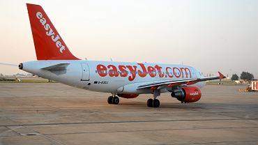 Samolot linii easyJet. Zdjęcie ilustracyjne